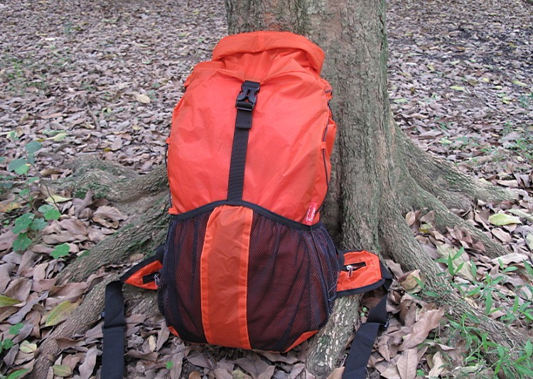 Axeman 30L Ultralight Backpack Ripstop 20D Silicided Nylon Orange